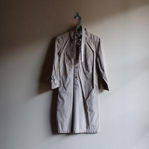 Khaki LOFT Shirtdress
